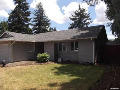 Keizer Single Family Home Active Under Contract: 4033 Noon Av