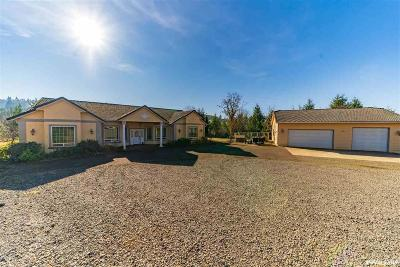 Stayton Single Family Home For Sale: 8777 Basl Hill Rd