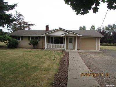 Stayton Single Family Home Active Under Contract: 41155 Stayton Scio Rd