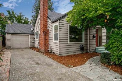 Corvallis Single Family Home Active Under Contract: 528 NW 17th St
