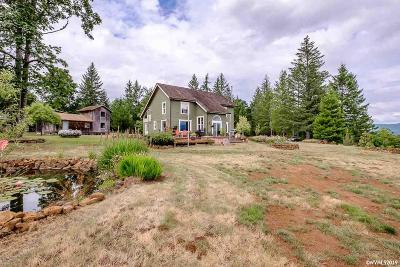 Scio Single Family Home For Sale: 42713 Highway 226 Hwy