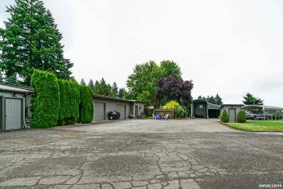 Aumsville Single Family Home Active Under Contract: 10227 Stayton Rd