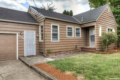 Keizer Single Family Home Active Under Contract: 5090 10th Av