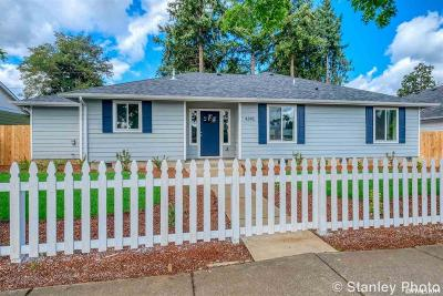 Salem Single Family Home For Sale: 4345 Liberty Rd