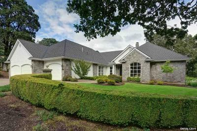 Salem Single Family Home Active Under Contract: 3943 Croisan Mountain Dr