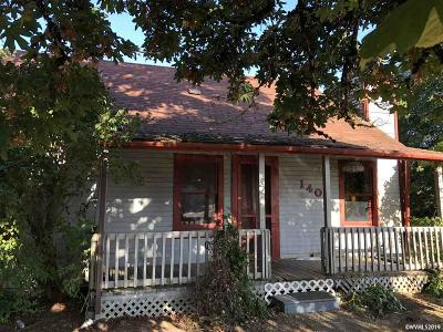 Aumsville Single Family Home For Sale: 145 N 4th St