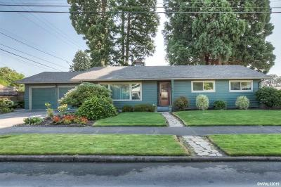 Keizer Single Family Home Active Under Contract: 4492 Thorman Av