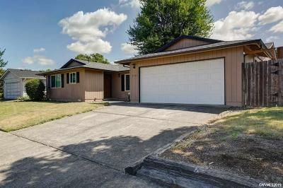 Keizer Single Family Home Active Under Contract: 6764 Pierce Ct
