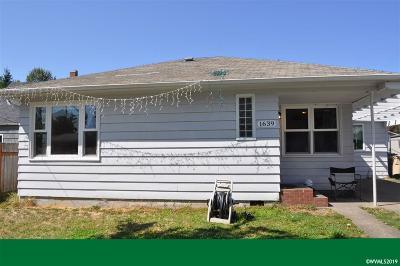 Albany Single Family Home Active Under Contract: 1639 16th Av