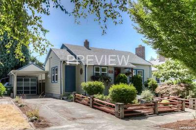 Salem Single Family Home For Sale: 1530 Madison St