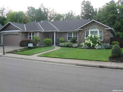 Salem Single Family Home For Sale: 3524 Torrey Pines Dr