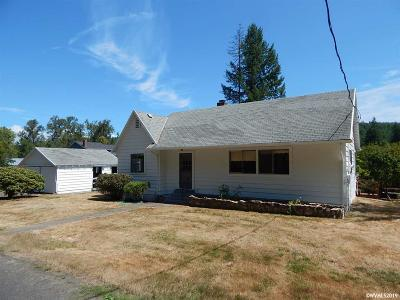 Scio Single Family Home For Sale: 37925 Lulay Rd