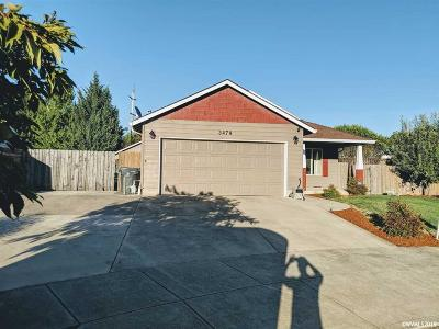 Albany Single Family Home For Sale: 3479 Siuslaw Ct