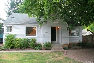 Keizer Single Family Home For Sale: 4930 Fillmore St