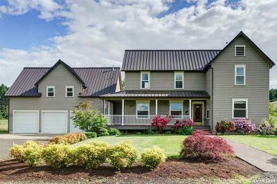 Corvallis Single Family Home For Sale: 4160 NW Crescent Valley Dr