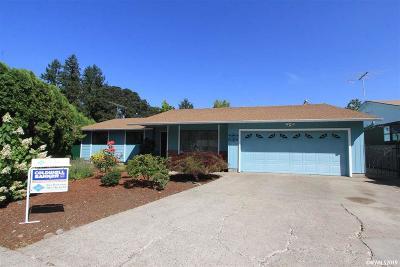 Salem Single Family Home For Sale: 1190 Nebraska Ct