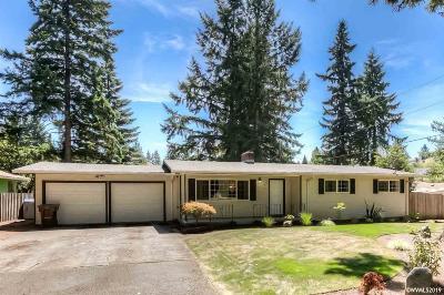 Salem Single Family Home For Sale: 1398 Browning Av