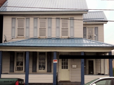 Cresson Multi Family Home For Sale: 711 Front Street