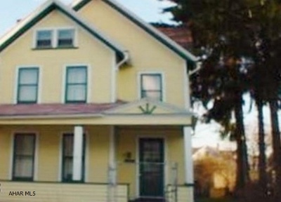Altoona PA Single Family Home For Sale: $29,500