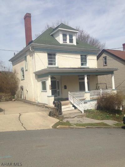 Altoona Single Family Home For Sale: 1614-16 17th Ave