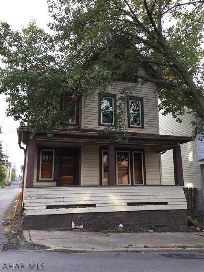Altoona Single Family Home For Sale: 109 S 7th Street