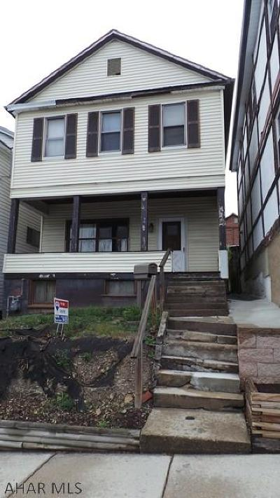 Altoona Single Family Home For Sale: 1222 17th Ave