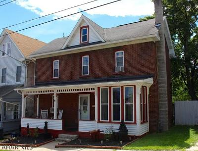 Hollidaysburg, Duncansville Single Family Home For Sale: 524 Pine Street