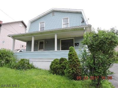 Blair County Single Family Home For Sale: 659 Lake Ave