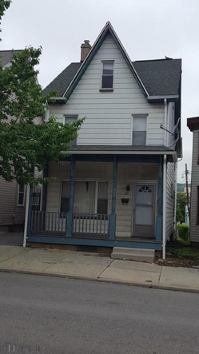 Altoona PA Single Family Home Sold: $19,900
