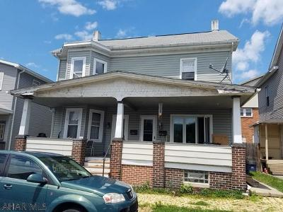 Altoona PA Multi Family Home Sold: $71,900