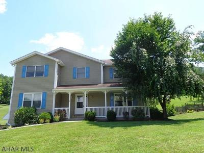 Hollidaysburg Single Family Home For Sale: 1700 Reservoir Rd