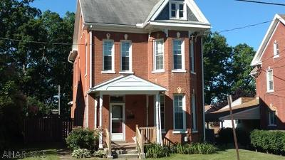 Martinsburg Single Family Home For Sale: 404 E Allegheny Street