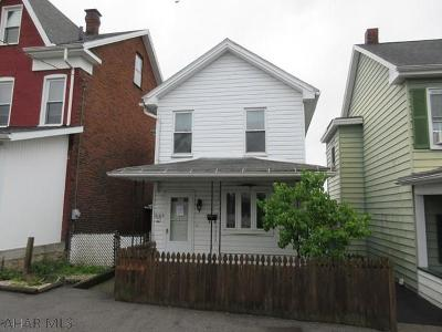 Altoona PA Single Family Home Sold: $24,900