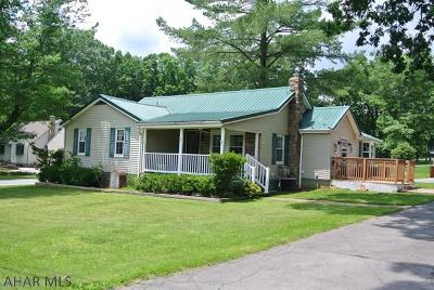 Hollidaysburg, Duncansville Single Family Home For Sale: 555 Brush Mountain Rd