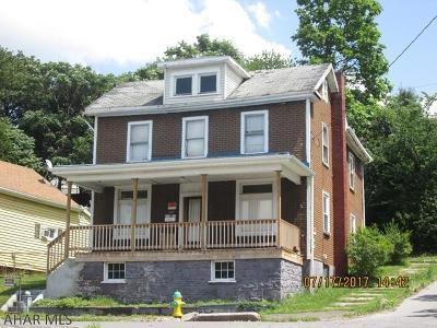 Altoona Single Family Home For Sale: 1927 3rd Avenue
