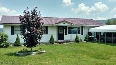 Martinsburg, Roaring Spring, East Freedom, New Enterprise, Woodbury Single Family Home For Sale: 264 Cream Hollow Road
