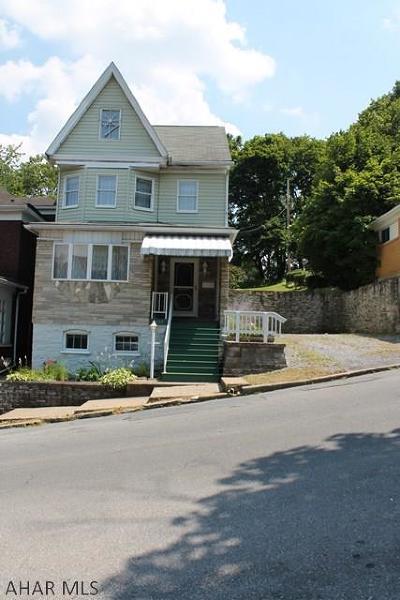 Altoona Single Family Home For Sale: 1117 20th Avenue