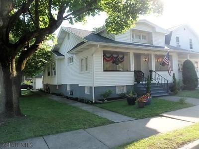 Altoona Single Family Home For Sale: 1101 Park Blvd