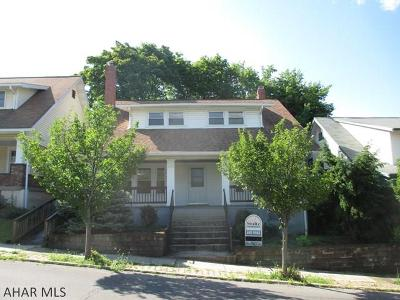 Altoona Single Family Home For Sale: 1004 25th Avenue