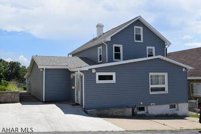 Altoona Single Family Home For Sale: 2117 15th Ave