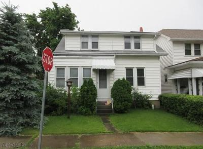 Altoona PA Single Family Home For Sale: $24,000