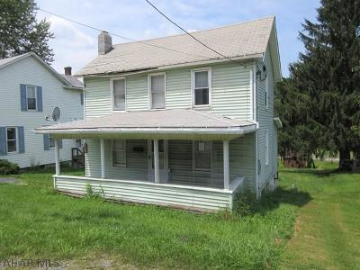 Houtzdale PA Single Family Home For Sale: $20,900