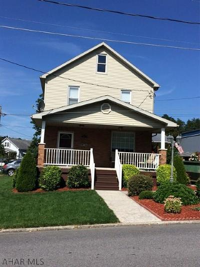 Ebensburg Single Family Home For Sale: 215 S West Street
