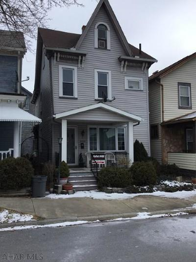 Altoona PA Single Family Home For Sale: $79,900