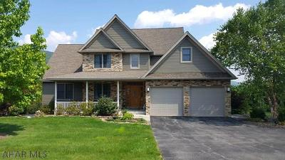 Hollidaysburg Single Family Home For Sale: 408 Pleasantview Drive