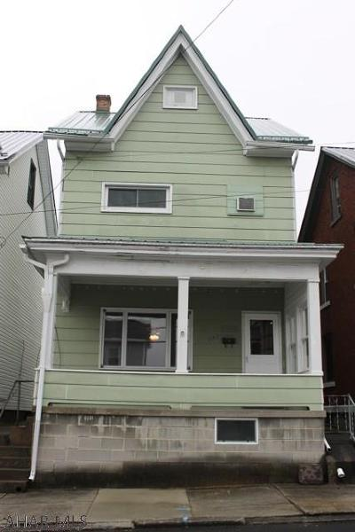 Altoona Single Family Home For Sale: 115 South 9th Street