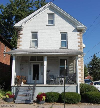 Hollidaysburg, Duncansville Single Family Home For Sale: 1115 Church Street