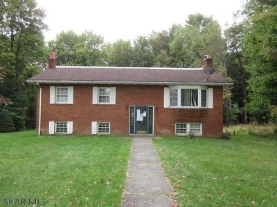 Revloc PA Single Family Home For Sale: $72,000