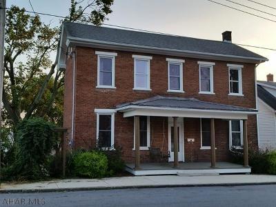 Martinsburg Single Family Home For Sale: 116 E Julian St