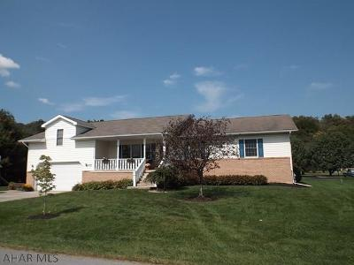 Hollidaysburg, Duncansville Single Family Home For Sale: 225 Richards Dr